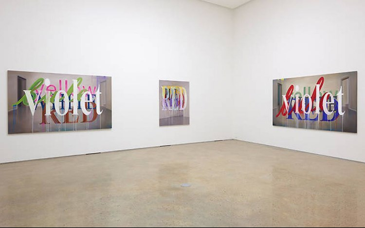 Cody Choi, Color Painting: Frustration is Beautiful, 2016, Exhibition view at PKM Gallery, Seoul. Courtesy PKM Gallery.