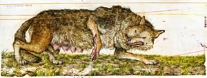 Big Bad Wolves, Chap. 3 by Mu Pan contemporary artwork