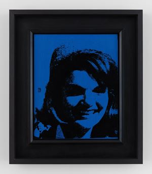 Jackie by Andy Warhol contemporary artwork