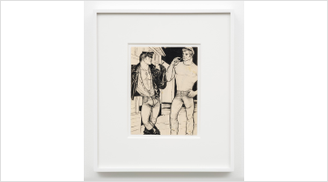 Contemporary art exhibition, Tom of Finland, Pen and Ink 1965 – 1989 at David Kordansky Gallery, Los Angeles