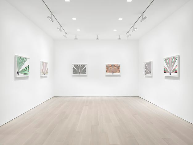 Exhibition view: Rico Gatson, Ghosts, Miles McEnery Gallery, 520 West 21st Street, New York (19 November–19 December 2020). Courtesy Miles McEnery Gallery.