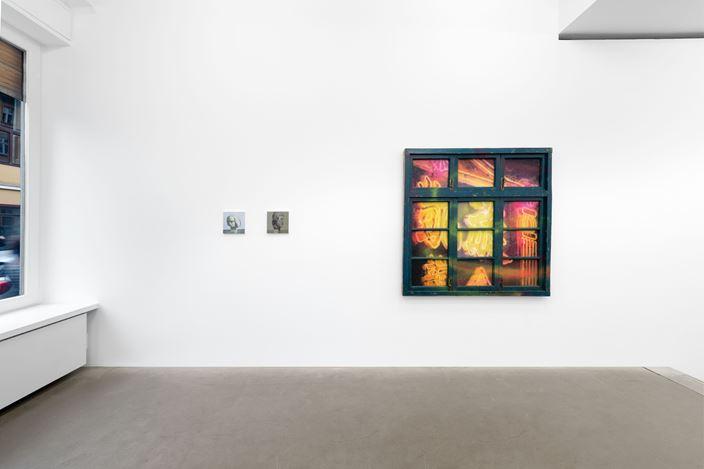 Exhibition view: Group Exhibition, West Lake: Breaking Open, Galerie EIGEN + ART Berlin (1 August–30 August 2019). Courtesy Galerie EIGEN + ART. Photo: Uwe Walter, Berlin.