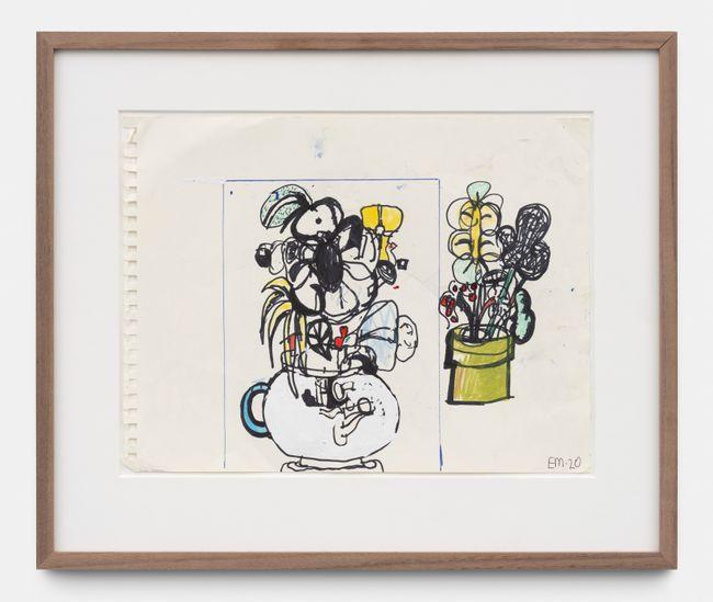 Untitled by Eddie Martinez contemporary artwork