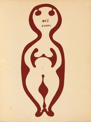 Nez bouché by Victor Brauner contemporary artwork