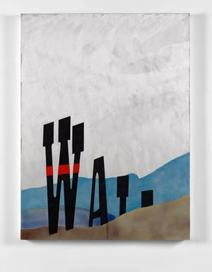 Wall by Dexter Dalwood contemporary artwork