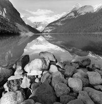 Lake Louise, Alberta, Canada by Lee Friedlander contemporary artwork photography