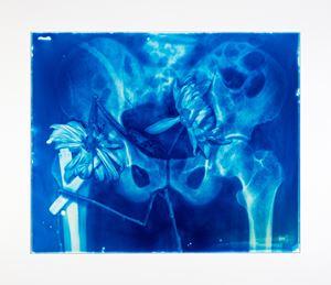 Blood Blue No.25 by Hu Weiyi contemporary artwork