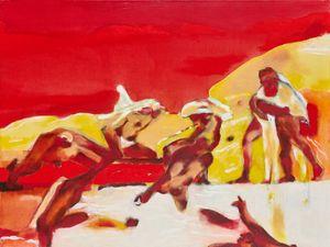 The Battle of Cascina II by Robert Hodgins contemporary artwork
