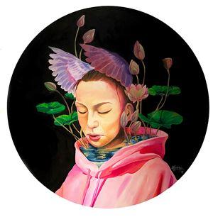 My Private Garden #1 by Nus Salomo contemporary artwork