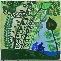 Fonua galo (pogipogi tuai) by John Pule contemporary artwork painting