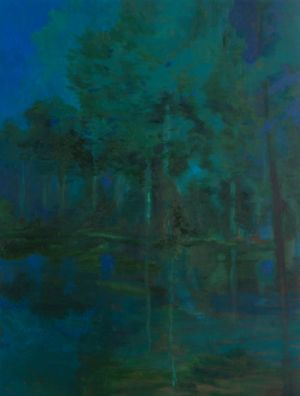 Ghost of an Old Forest by Christopher Orr contemporary artwork