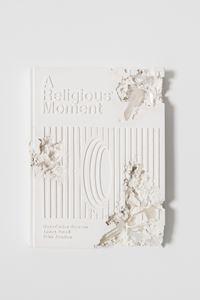 Quartz Eroded Religious Moment Book by Daniel Arsham contemporary artwork sculpture
