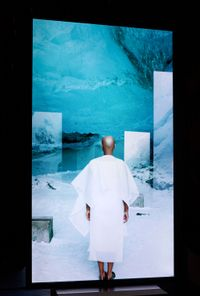 Stones Against Diamonds (Ice Cave) by Isaac Julien contemporary artwork moving image
