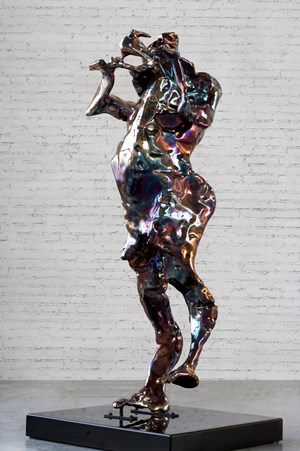 Forms in Flux No.17 by Zhan Wang contemporary artwork