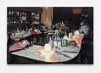 Last Night at Danny's Tavern by Elizabeth Ravn contemporary artwork painting