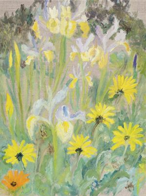 Spring Gifts by Star Gossage contemporary artwork