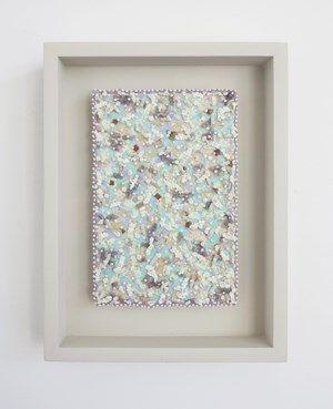 Vosa ni ua VI by Claudia Jowitt contemporary artwork mixed media