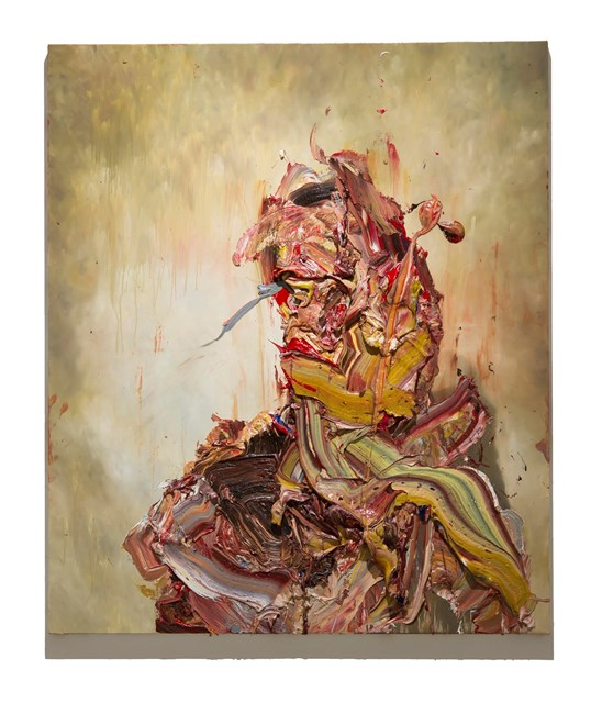 Raw Intent No. 14 by Antony Micallef contemporary artwork