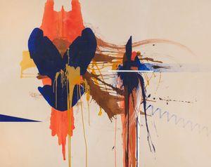 The Magda by Elizabeth Neel contemporary artwork