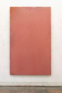 Zurbaran Rosa by Peter Tollens contemporary artwork painting, works on paper