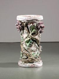 Table leg by Lucio Fontana contemporary artwork sculpture