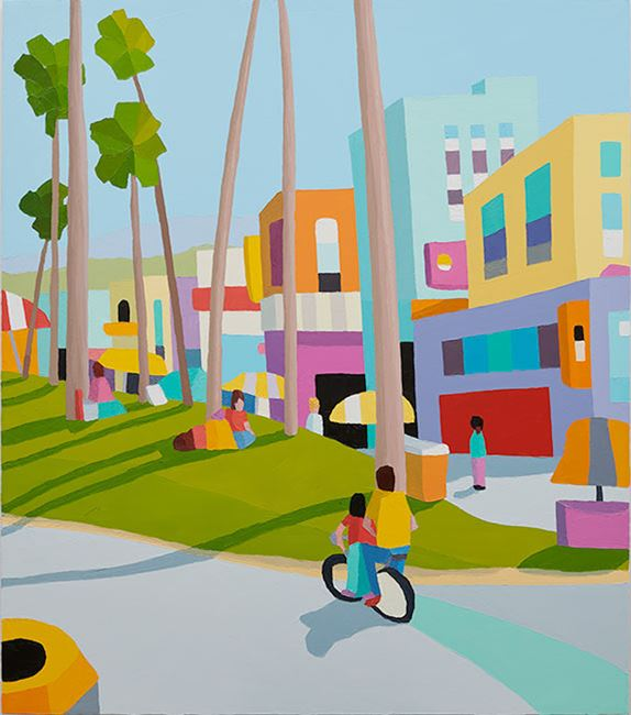 low rider by Michael Muir contemporary artwork