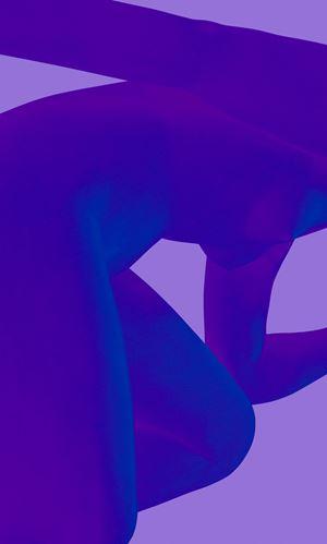 Blue Nude III by Sara VanDerBeek contemporary artwork
