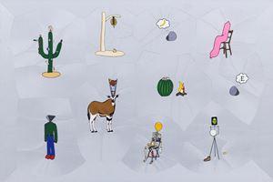 Páramo, The reunion II by Gabriel Rico contemporary artwork