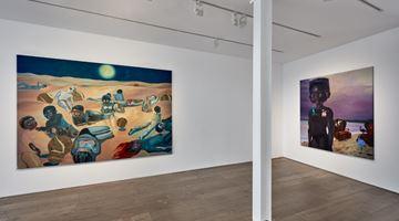 Contemporary art exhibition, Ndidi Emefiele, Here as in Heaven at rosenfeld, London, United Kingdom