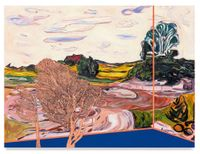 Veduta (Munch Field) by Whitney Bedford contemporary artwork painting
