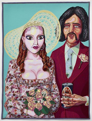 Julie and Dave by Grayson Perry contemporary artwork
