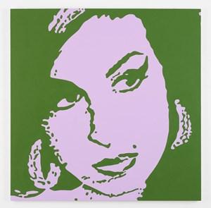 Amy Winehouse by Merlin Carpenter contemporary artwork
