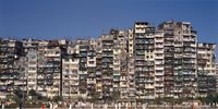 'Panorama South #1', City of Darkness, Hong Kong by Ian Lambot contemporary artwork photography, print