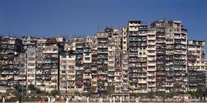 'Panorama South #1', City of Darkness, Hong Kong by Ian Lambot contemporary artwork