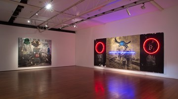 Contemporary art exhibition, Brook Andrew, Space & Time at Roslyn Oxley9 Gallery, Sydney