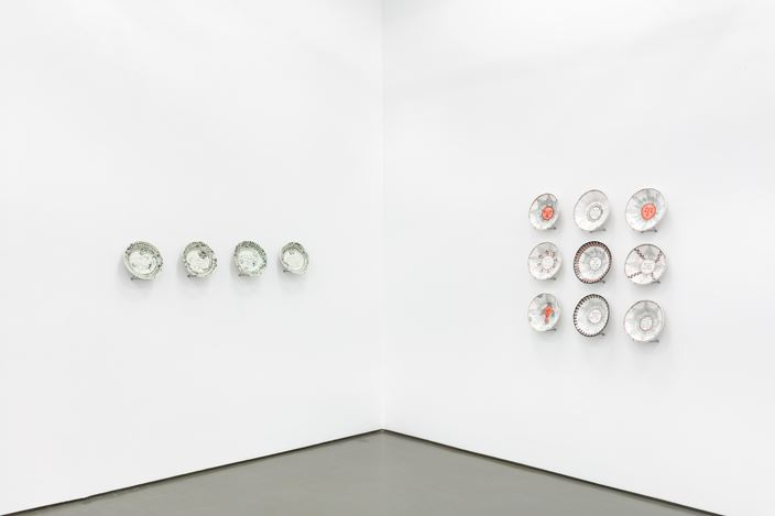 Exhibition view: Hylton Nel, Plates and Bowls, Old and New, Stevenson, Cape Town (10 December 2020–23 January 2021). Courtesy Stevenson.