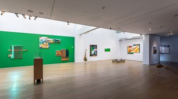 Contemporary art exhibition, Chou Tai Chun, Terrain, Maps, Time Travel–CHOU Tai-Chun's solo exhibition at Liang Gallery, Taipei