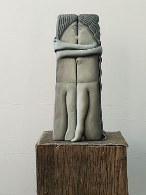 The Kiss (Remain) by Cathie Pilkington contemporary artwork