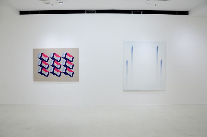 Exhibition view: Group Exhibition, Absorption as a Way of Seeing 凝觀, Pearl Lam Galleries, Pedder Street, Hong Kong (27 August–10 September 2018). Courtesy Pearl Lam Galleries.