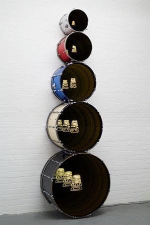 Revolution V by Iván Navarro contemporary artwork