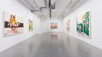 Contemporary art exhibition, Christina Quarles, Always Brightest Before Tha Dusk at Pilar Corrias, London