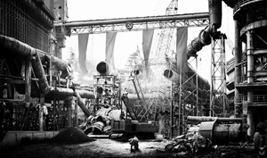 Steel Factory by Hou Shuai contemporary artwork