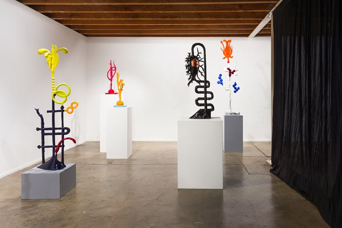 installation view, Viewing Room, Caroline Rothwell: Arrangements, Roslyn Oxley9 Gallery, Sydney. photo: Luis Power