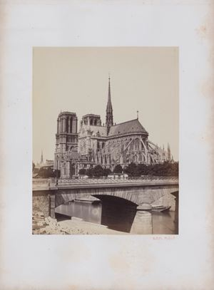 Notre Dame [17] by Achille Quinet contemporary artwork