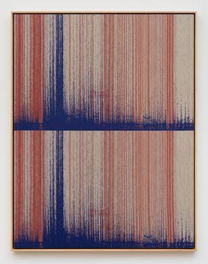 Negative Entropy (Inscape, Beginning Meditation, Pale Orange, Double) by Mika Tajima contemporary artwork