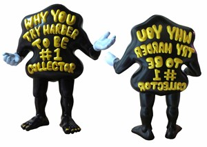 Why You Try Harder to Be #1 Collector (#10) by Uji 'Hahan' Handoko Eko Saputro contemporary artwork