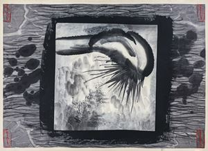 Body Landscape #3 《人體山水#3》 by Gu Wenda contemporary artwork