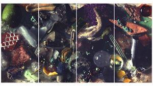 NATRITINE GAZE (PART 1 – 4) by Ran Zhang contemporary artwork