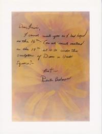 Letter from Roberta to Irwin by Lynn Hershman Leeson contemporary artwork print