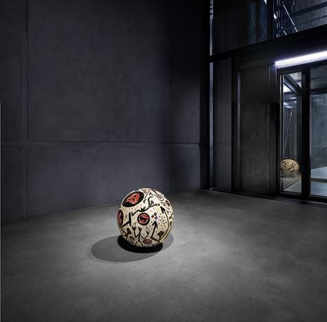Exhibition view: A.R. Penck, Room #3, Kewenig, Berlin (2 March–31 March 2021). © A. R. Penck. Courtesy Kewenig. Photo by Lepkowski Studios, Berlin.